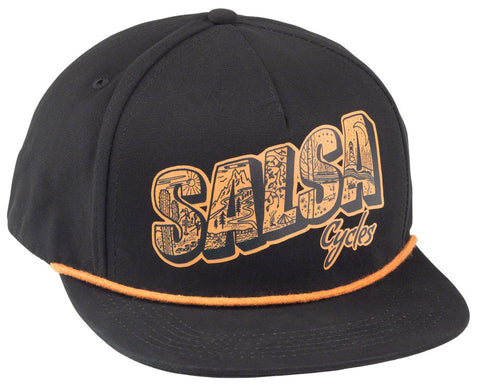 NEW Salsa Wish You Were Here Baseball Hat - Gray, One Size