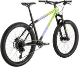NEW All-City Electric Queen - Blue/Lime Splatter Mountain Bike