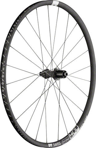 NEW DT Swiss ER 1400 Spline Rear Wheel - 700, 12 x 142mm/QR x 135mm ,6-Bolt/Center-Lock, HG 11, Black
