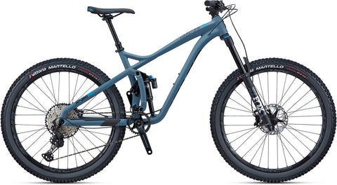 NEW 2020 Jamis Hardline A1 Full Suspension Mountain Bike Blue Smoke