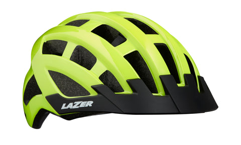 Lazer Compact Helmet Flash Yellow One Size