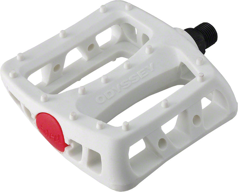 "NEW Odyssey White Twisted PC 9/16"" Pedals"