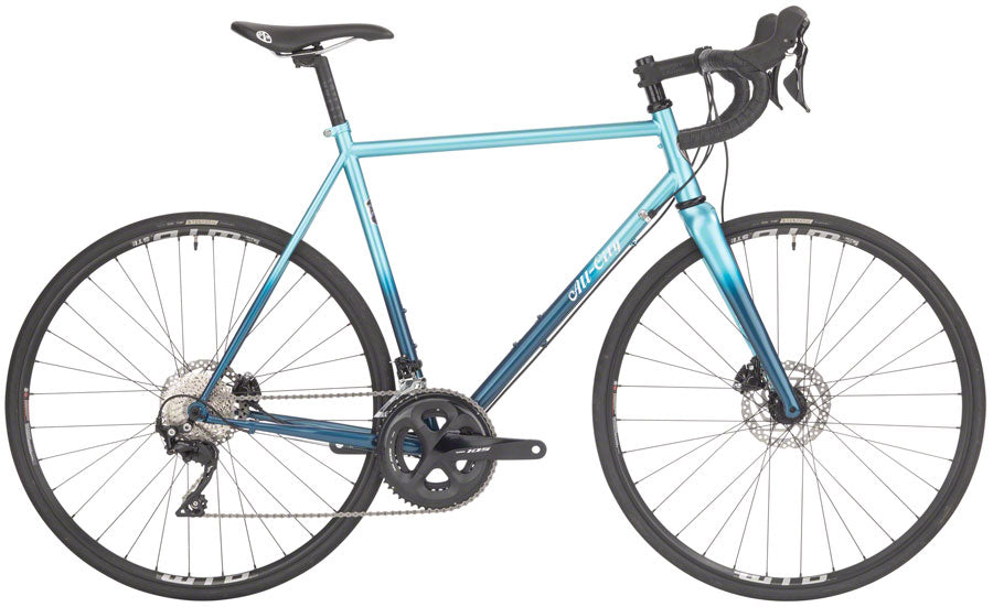 NEW All-City Zig Zag 105 - Miami Beach Aqua Road Bike