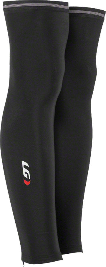NEW Garneau Leg Warmer 2: Pair~ Black~ XL