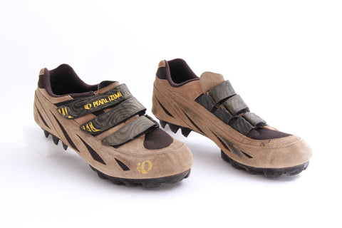 USED Pearl Izumi Mountain Size 12.5 US M/46EUCycling Shoes 2 Bolt Cx Gravel Bike