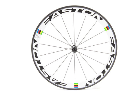 Cadel Evans World Champion EC90 SL Autographed Front Wheel