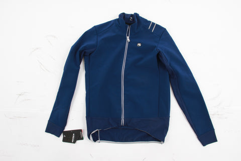 NEW *blemished* Giordana Fusion Jacket Men's Large Blue Road Gravel CX Bike