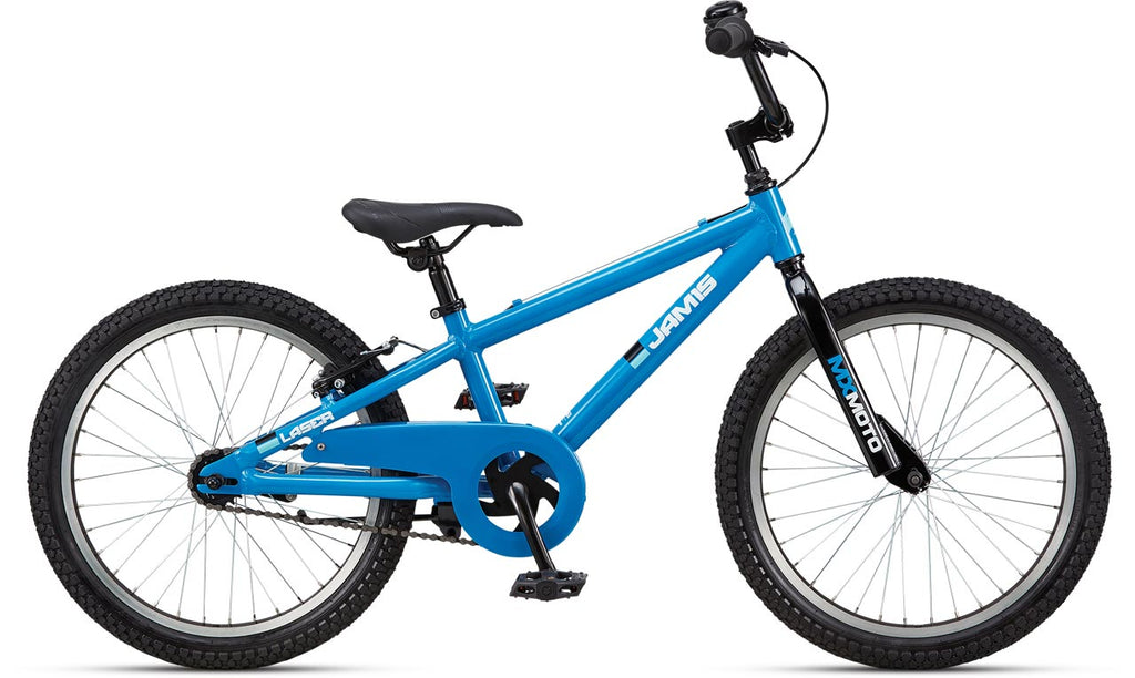 "NEW 2021 Jamis Laser 2.0 10 x 20"" Kids Bike Coaster Brake Cosmo Blue"