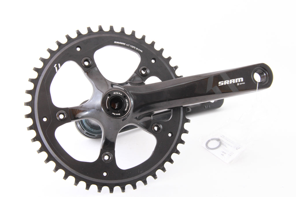 NEW TAKE OFF SRAM S-Series S350 1x 44t 170mm PF30/BB30 Crankset Narrow Wide