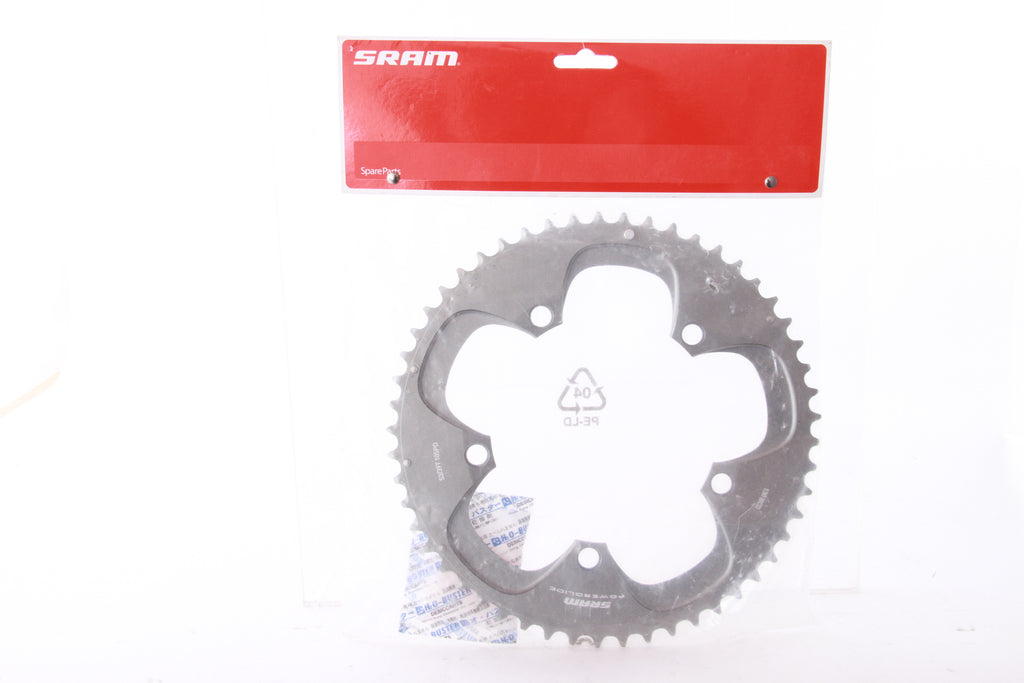 NEW SRAM Powerglide 53T Chainring 130BCD 10 Speed Road TT Tri Bike Red Force