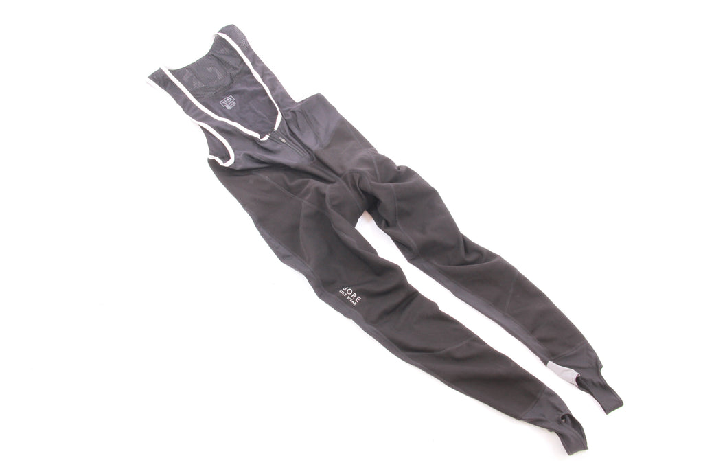 NEW Gore Bike Wear Windstopper Soft Shell Cycling Tights/Bib Large