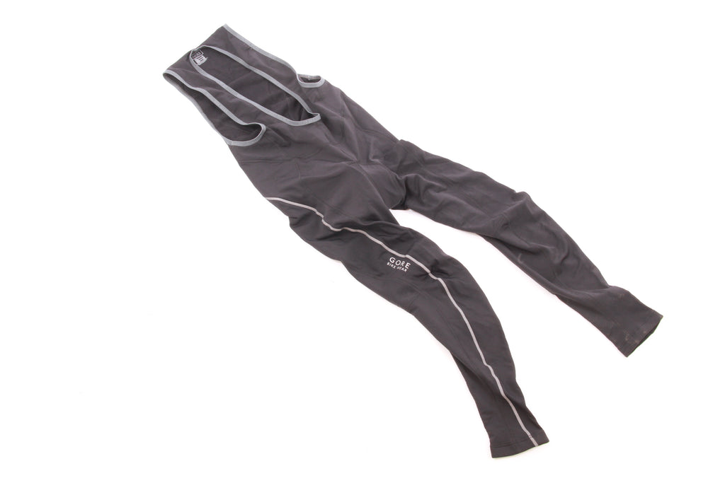 NEW Gore Bike Wear Cycling Tights/Bib Large Black Winter