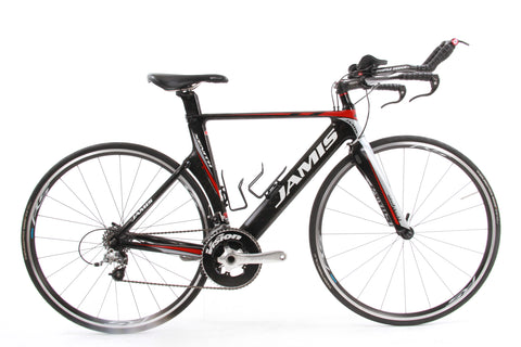 USED 2013 Jamis Xenith T1 54cm Carbon Triathlon TT Bike SRAM Force 10 speed