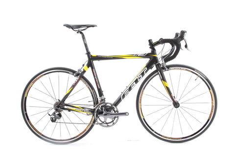 USED 2008 Felt F3 54cm Ultegra/Dura-Ace 2x10 Speed Carbon Road Bike 16lbs! Mavic Wheels