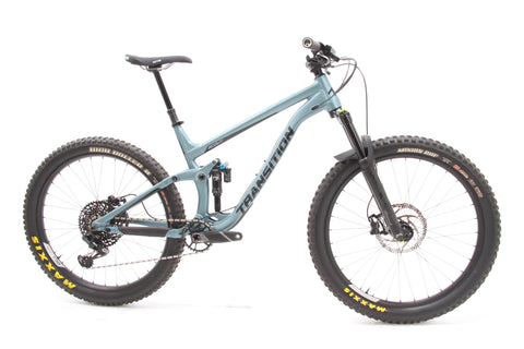 "USED 2019 Transition Scout FS Mountain Bike Large 27.5""+ SRAM GX Eagle 1x12"
