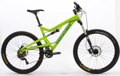 "USED 2015 Santa Cruz Heckler Large Full Suspension Mountain Bike 27.5"" Wheels"