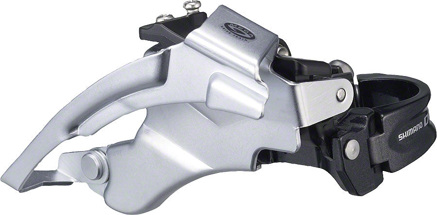 NEW Shimano Deore M590 9-Speed Triple Top-Swing Dual-Pull Front Derailleur
