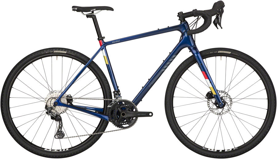 NEW Salsa Warbird Carbon GRX 600 - Dark Blue All-Road Bike