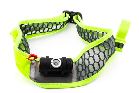 NEW Ultraspire Lumen 170 Green Waist Mounted Belt Light for Running Triathlon