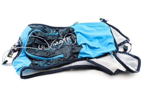 NEW Ultimate Direction Ultravest 4.0 Small Signature Blue Running Triathlon Race