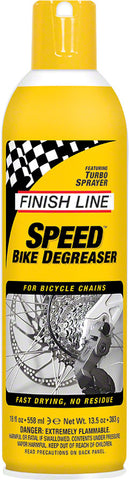 NEW Finish Line Speed Bike Degreaser, 18oz Aerosol