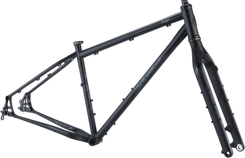 NEW Salsa Fargo Frameset - Black All-Road Frame