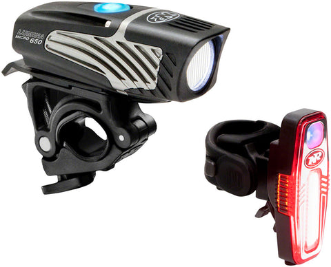 NEW NiteRider Lumina Micro 650 and Sabre 110 Headlight and Taillight Set