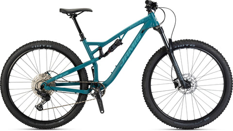 NEW 2021 Jamis Faultline A2 Full Suspension Mountain Bike Nile Blue