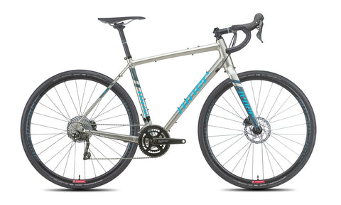NEW 2020 Niner RLT 9 2-Star Shimano GRX 400 Gravel Bike Forge Grey/Skye Blue
