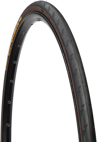 NEW Continental Gatorskin Tire - 700 x 25, Clincher, Folding, Black, 180tpi