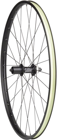 NEW Quality Wheels Value Double Wall Series Disc Rear Wheel - 650b, QR x 135mm, Center-Lock, HG 11, Black