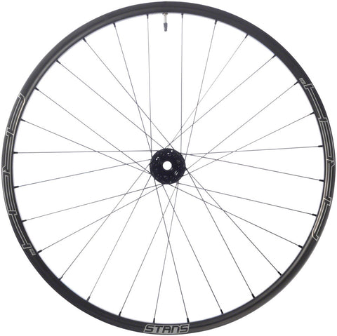 "NEW Stan's No Tubes Arch CB7 Front Wheel - 27.5"", 15 x 100mm, 6-Bolt, Black"