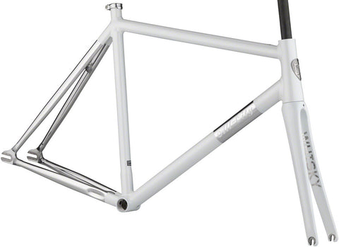 NEW All-City Thunderdome - Polished Pearl Track Frame