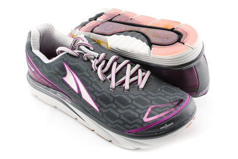 NEW Altra Torin IQ Grey Purple Women's Size 8.5US 39EU Running Triathlon Shoes