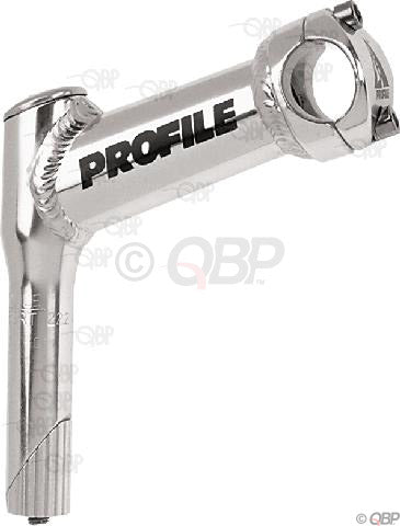 "NEW Profile Design Boa 1"" Quill Mountain Stem: 105mm, +40 degree, 25.4mm Bar Clamp, Silver"