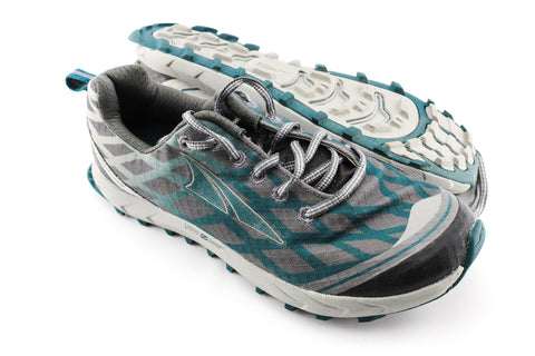 NEW Altra Superior 2.5 Blue Green Women's Size 8.5US 39EU Trail Running Shoes