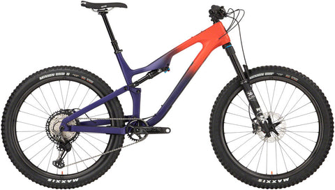 NEW 2020 Salsa Rustler Carbon XTR - Orange/Purple Fade Mountain Bike