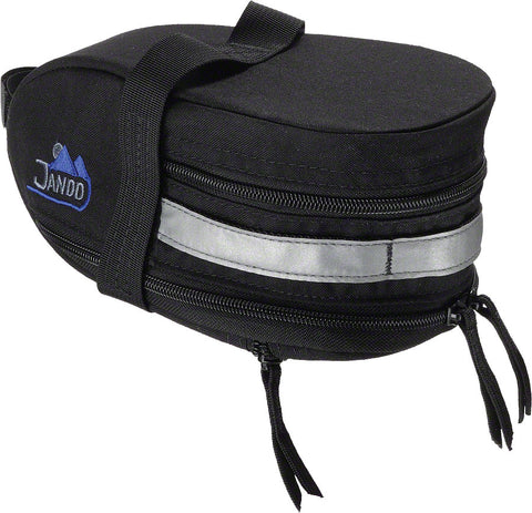 NEW Jandd Mountain Wedge Expandable Seat Bag: Black