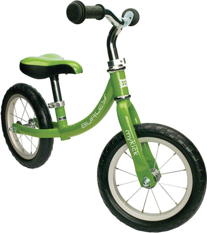 NEW Burley MyKick Balance Bike: Green