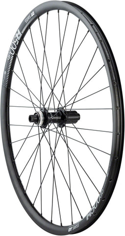 NEW Quality Wheels RS505/DT R500 Disc Rear Wheel - 650b, 12 x 142mm, Center-Lock, HG 11, Black
