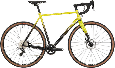 NEW All-City Macho King A.C.E. - Yellow Fade Splatter Cyclocross Bike