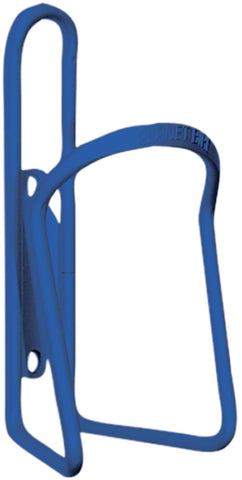 NEW Planet Bike Alloy 6.2mm Water Bottle Cage: Blue Anodized