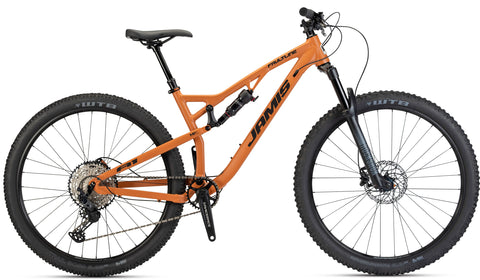 NEW 2021 Jamis Faultline A1 Full Suspension Mountain Bike Orange Clay