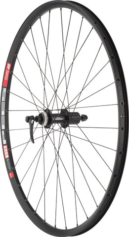 "NEW Quality Wheels Deore M610/DT 533d Rear Wheel - 27.5"", QR x 135mm, Center-Lock, HG 10, Black"
