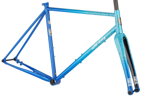 NEW All-City Nature Cross Single Speed Frameset - Propane Flame Cyclocross Frame
