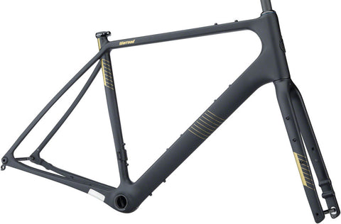 NEW Salsa Warroad Carbon Frameset - Black All-Road Frame