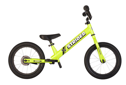 NEW Strider 14x Sport Balance Bike, Green
