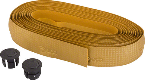 NEW Deda Elementi Special Handlebar Tape - Carbon Look Gold
