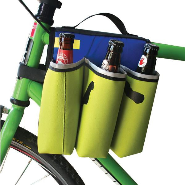 UPCYCLED GREEN GURU SIXER 6-PACK TOP TUBE HOLDER - Around the Cycle