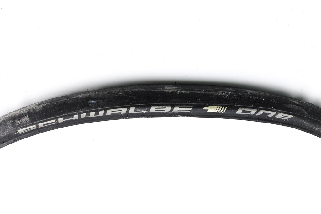 NEW Take Off Schwalbe One 700x23c Folding Road Clincher Slick Tire Black 23-622
